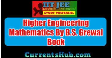 Higher Engineering Mathematics By B.S. Grewal Book Free Download
