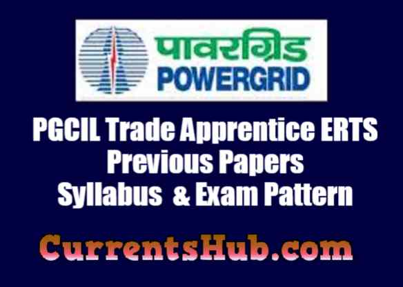 PGCIL Trade Apprentice ERTS Previous Papers    Syllabus  & Exam Pattern