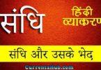 Sandhi in Hindi   संधि की परिभाषा, भेद और उदाहरण