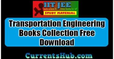 Transportation Engineering Books Collection Free Download