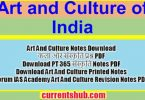 Art and Culture In English Notes PDF Download