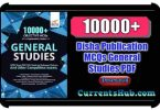 Disha 10000+ Objective MCQs General Studies PDF Book